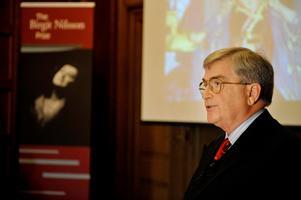 Rutbert Reisch är ordförande för Birgit Nilsson Foundation som delar ut priset. Under åren som gått har han och resten av stiftelsen lyckats öka fondens storlek väsentligt. Arkivbild: Jessica Gow / TT
