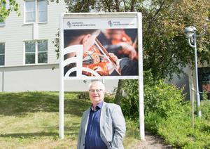 Sedan 2010 har Lennart Åkermark varit chef för Nordiska Kammarorkester - där han i många år tidigare var musiker - och Musik Västernorrland. Men nu stundar en ny tid: pensionen.