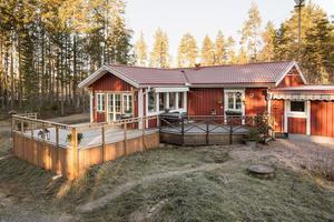 3 669 klick på Hemnet under vecka 49 innebar en niondeplats för denna villa i Nusnäs i Mora kommun. Foto: Andreas Timfält