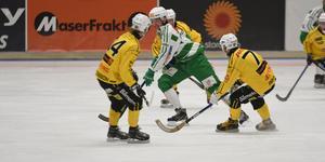 Robin Andersson blev tremålsskytt mot Broberg.