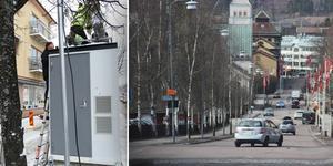 """Mätstationen på Svärdsjögatan visar att luften i Falu centrum är """"ganska bra""""."""