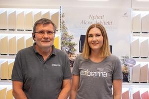 Allan Josefsson och Alexandra Syversen på Colorama Noréns Jönköping.