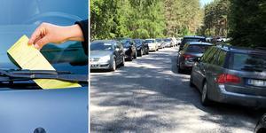 Felparkerade bilar och medföljande nedskräpning blev ett stort problem vid Hallstagropen under sommaren 2018. Nu utlovar Västerås stad ökad parkeringsbevakning.
