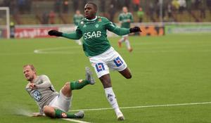 Christian Kouakou sänkte J-Södra med sina två mål.