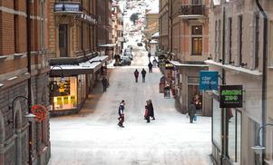 Butiken stänger eftersom de har haft för få besökare och nu väljer att satsa fullt ut på affären i Birsta city.