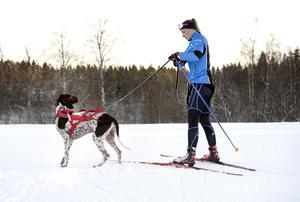 Pigga Zigge tycker att matte Sanna Näslund är lite väl långsam i starten.