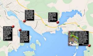 Här är gömmorna som upptäckts i Falun – och som den utpekade Bandidosledaren misstänks ligga bakom.