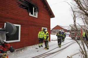 Räddningstjänsten fick branden i Västerby snabbt under kontroll.
