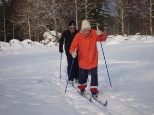 Min 93-åriga svärmor Margit Kjellin-Johansson är still going strong