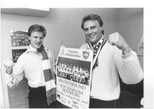 Anders Tagesson och Lars Klefbom, IFK Östersund