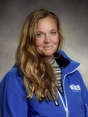 Jennie Sahlsten blev vd för Erlandsson Bygg i Dalarna för tre månader sedan. Foto: Privat