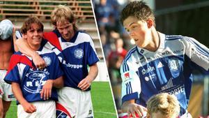 Göran Sundqvist (till höger om Fredrik Carström) tappade platsen på bekostnad av en blivande stor svensk spelare.