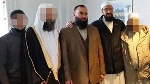 Abdel Nasser El Nadi till vänster och Gävleimamen Abo Raad till höger.
