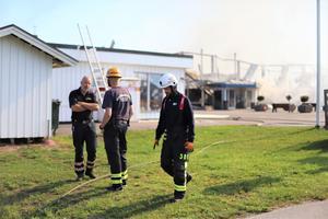 Räddningstjänst kommer att befinna sig på platsen under hela dagen.