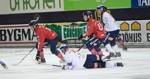 Andreas Westh och Bollnäs föll tungt i tisdagens möte med Edsbyn.