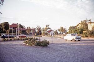 Bild: Stadsarkivet, Parkering på Felix sept 1972.