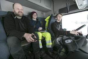 Jonas Jonsson, Erik Andren och Kim Eriksson.