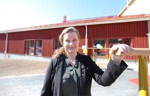 Invigningstalade gjorde Camilla Sparring (C), ordförande i omvårdnadsnämnden.