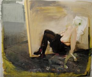 Sixten Sandra Österberg  var en gång i tiden Lisa Lings elev på gymnasiet. I sommar ställer båda kvinnor ut sina tavlor på samma utställning.