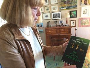 Författaren Inger Frimansson ska få en egen litterär skylt vid Hansta strand.