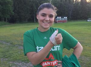 Adelina Murseli gjorde sina första mål för säsongen när IK Sätra vann med 2-3