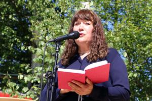 Mellanskogs ordförande Karin Perers.
