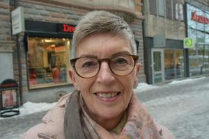Yvonne Johansson, 65, undersköterska, Sundsvall.