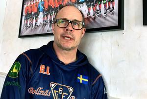 Klubbchefen Robert Lindgren och Bollnäs väljer att avsluta samarbetet med skyttekungen från Söderfors.