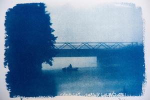 Många av bilderna är tagna under promenader kring Falun.  Känner du igen var den här bilden är tagen?