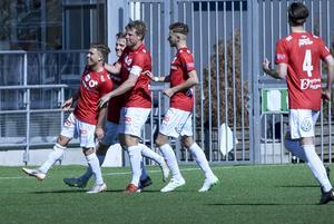 Nikola Ladan blev matchvinnare för Degerfors, då han rullade in en straff i den 93:e minuten.