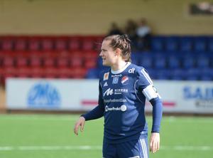 Denise Sundberg kunde glädjas åt både en seger och en comeback under lördagen.