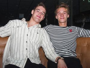 O'Learys. Filip Nilsson och Rasmus Helmrich. Foto: Fabian Zeidlitz