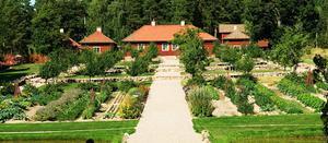 Stabergs barockträdgård.