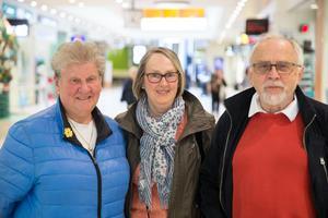 Jeanette Nilsson, Kerstin Arvidsson och Lars Arvidsson.