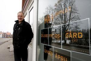 Per-Olov Persson tycker att det ska bli kul att hyra ut lokalerna till traktens ungdomar.