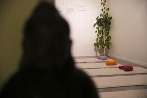 Inne i lokalerna finns en yogasal med gott om plats.