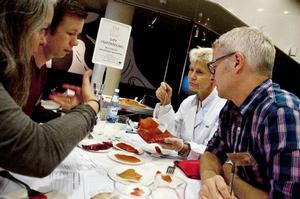 Juryn för förädlade fiskprodukter ska avgöra vilka tävlingsbidrag som ska få medaljerna i år.