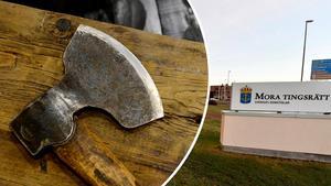 En man i Sälen höjde ett svärd mot poliserna som skulle gripa honom och hotade dem även med en yxa. Nu dömer Mora tingsrätt mannen till fängelse för bland annat tre fall av hot mot tjänsteman. OBS: Bilden föreställer en annan yxa.
