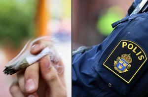 Mannen har åtalats för narkotikabrott. Fotomontage: TT