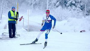 Andreas Holmberg. Bilden är inte från Kaiser Maximilian Lauf, utan från ett tidigare lopp i skidorientering.