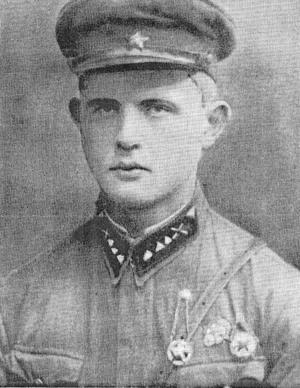 Eric Westers pappa Toivo, tvingades strida för Röda Armén. Foto: Privat