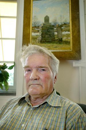 Erik J Bergström. Arkivbild. Foto: Ulrika Andersson.