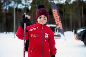 Axel Sandström, hockeyspelare i Timrå IK U9.