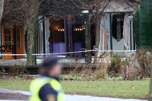 De två personer som hittats svårt skadade förklarades senare avlidna. Foto: Jeppe Gustafsson/TT