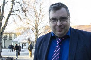 Henrik Olofsson,fullmäktigeledamot för Sjukvårdspartiet.
