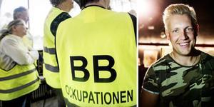 Gottfrid Krantz från Gussjö tar ställning för BB-ockupationen.