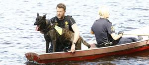 Hundförare fanns med i sökandet efter 10-åringen som senare hittades vid lunchtid på fredagen.