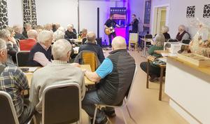 Många medlemmar hade kommit till årsmötet. Foto: Per-Martin Edström