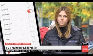 Sveriges televisions Södertäljesändning.