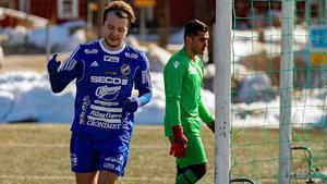 Nyförvärvet Max Holmberg har gjort tre mål på fyra matcher. Bild: Jörgen Hjerpe